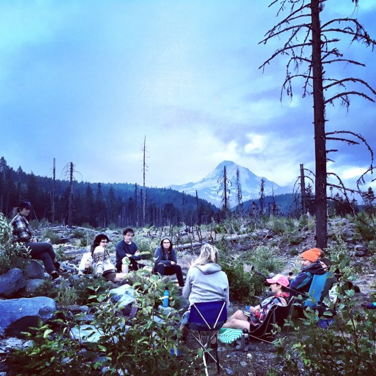 A backcountry workshop with Signal Fire